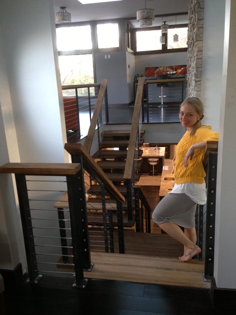 Custom Stairs and Railings 2