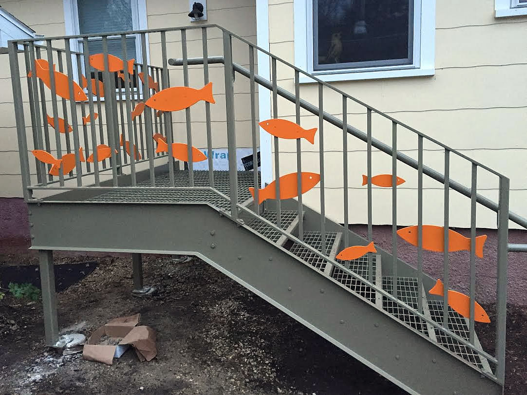 Custom Stair Railing Custom Stairs And Railings Weldcorp Mfg Llc