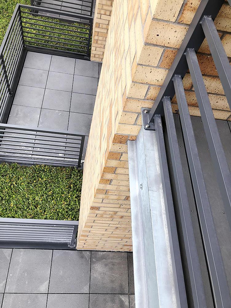 custom patio railings