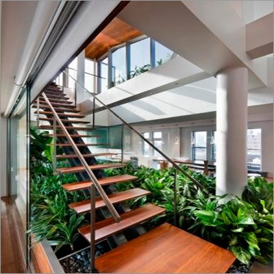 Stainless-Steel Staircase Railings